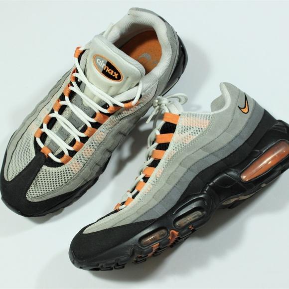 latest design outlet boutique autumn shoes Nike Air Max '95 609048-103 White Bright Mandarin